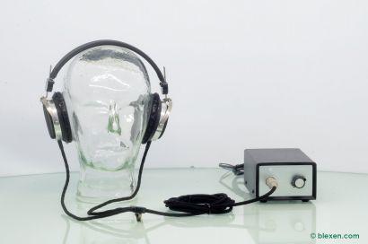 Micro Seiki MP-1 MS-2 Electrostatic Headphones, defective