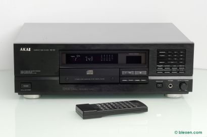 Akai CD-55 with remote control