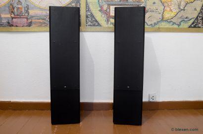 Braun LS-150, nice speakers, black