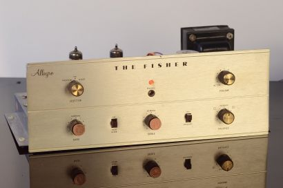 The Fisher Allegro Tube Tuner and Amplifier