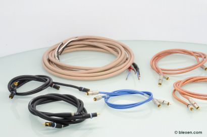 Monster Cable High Quality Cable Set, RCA and Speaker Cable