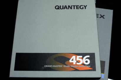 Quantegy 456 Grand Master, NOS, still sealed