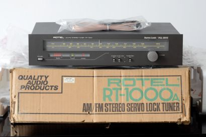 ROTEL RT-1000 ANALOG TUNER, NEW OLD STOCK