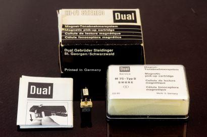 Dual M71 Shure M75 in original box, used